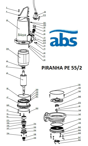 abs piranha pe55 2 cs sz gy r s t m t s. Black Bedroom Furniture Sets. Home Design Ideas