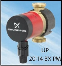 GRUNDFOS COMFORT UP 20-14 BX PM