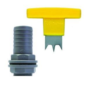 Esővízgyűjtő csatlakozó 32 mm, kézi fúróval